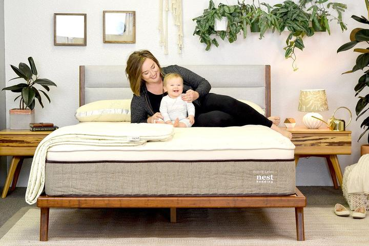 Photo: Nest hybrid latex mattress