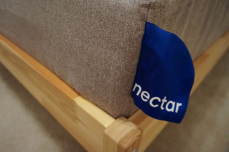 Nectar mattress label
