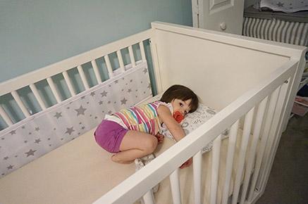 Toddler-phase-of-crib-mattress-Nature-Pedic