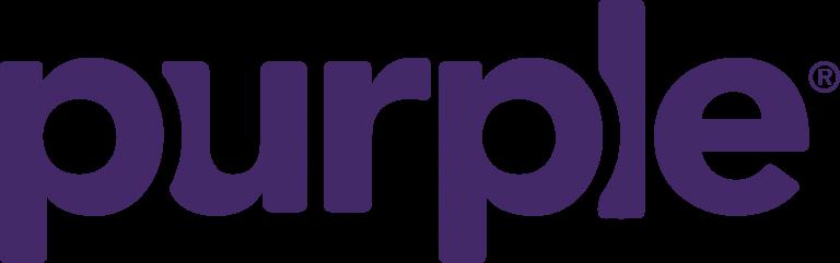 Purple mattress logo