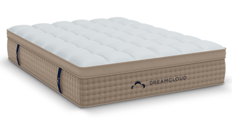 DreamCloud Mattress Review picture of bed