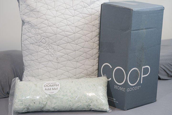 Coop Eden Pillow Review | Adjustable Memory Foam