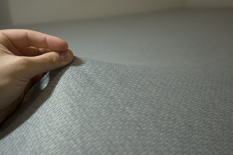 Ultra-breathable, moisture wicking cover of the Zoma mattress